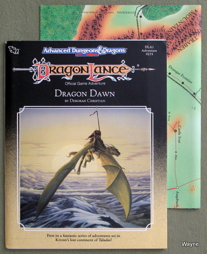 Image for Dragon Dawn (Advanced Dungeons & Dragons/Dragonlance Module DLA1)