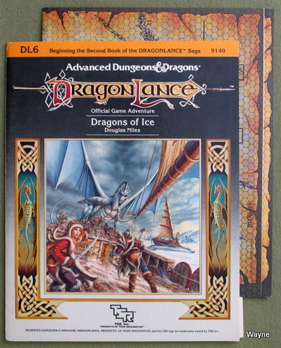Image for Dragons of Ice (Advanced Dungeons & Dragons: Dragonlance adventure DL6)