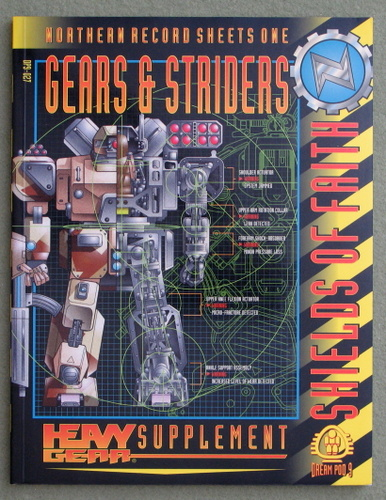Image for Northern Record Sheets One: Gears & Striders (Heavy Gear)