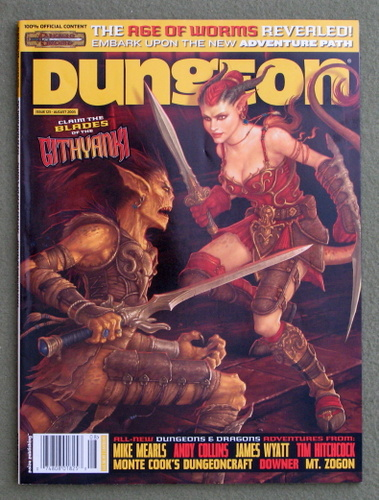 Image for Dungeon Magazine, Issue 125