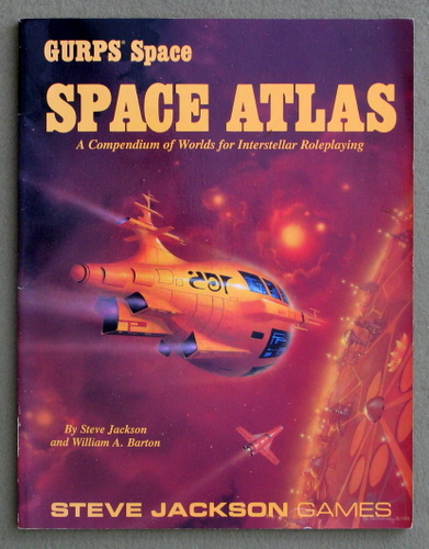 Image for GURPS Space Atlas: A Compendium of Worlds for Interstellar Roleplaying