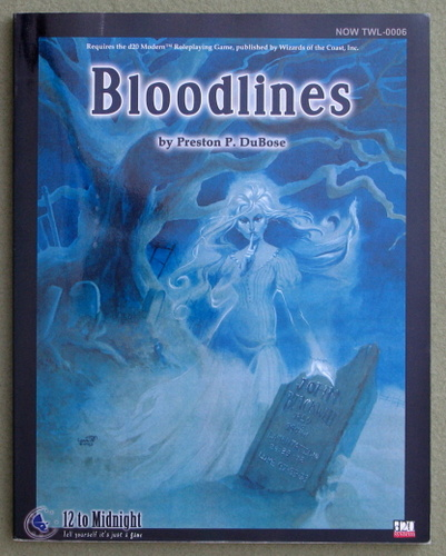 Image for Bloodlines : A Pinebox Tale (D20 System)