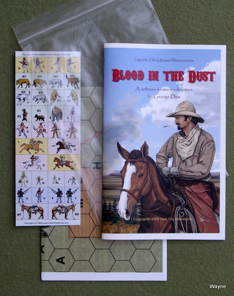 Image for Blood in the Dust (Legends of the Untamed West)