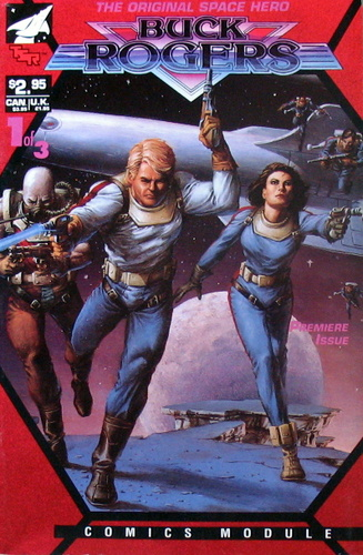 Image for Buck Rogers (Comics Module, Premiere Issue #1 of 3)