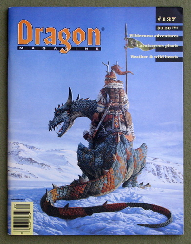 Image for Dragon Magazine, Issue 137