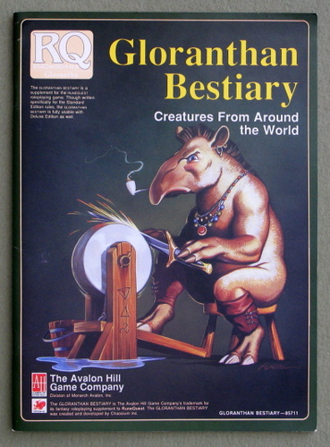 Image for Gloranthan Bestiary: Creatures From Around the World (Runequest)