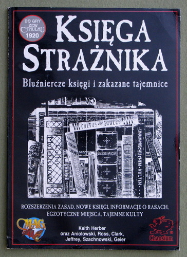 Image for Ksiega Straznika (Call of Cthulhu)