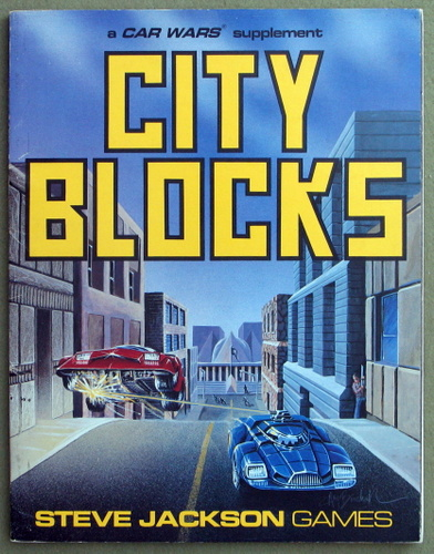 Image for City Blocks: A Car Wars Supplement
