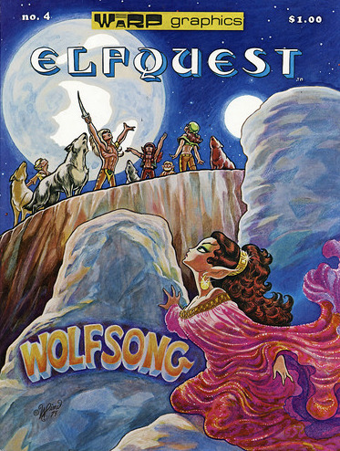 Image for Elfquest # 4: Wolfsong