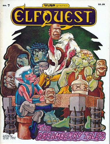 Image for Elfquest # 7: The Dreamberry Tales