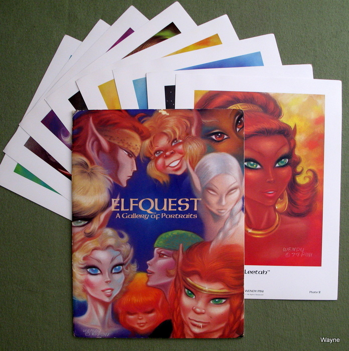 Image for Elfquest Portfolio 2: A Gallery of Portraits