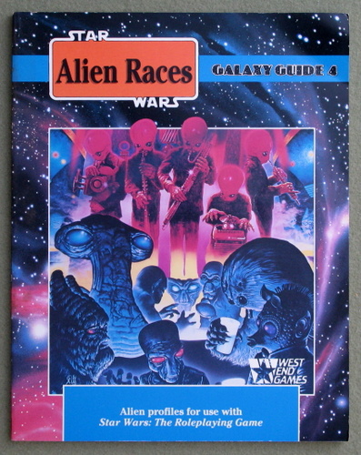 Image for Alien Races: Galaxy Guide 4 (Star Wars Roleplaying Game) - PLAY COPY