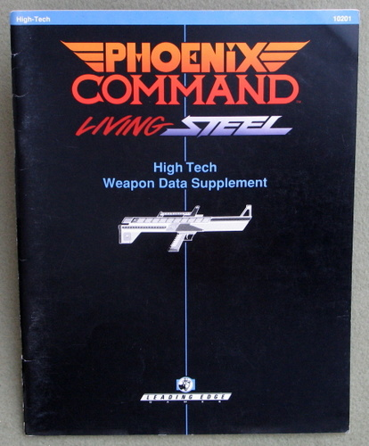 Image for Phoenix Command High-Tech Weapon Data Supplement (Living Steel)