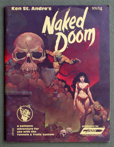Image for Naked Doom (Tunnels & Trolls Solo Dungeon 4)