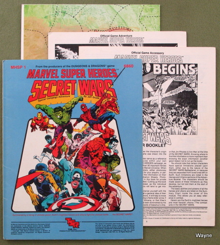 Image for Secret Wars (Marvel Super Heroes module MHSP1)
