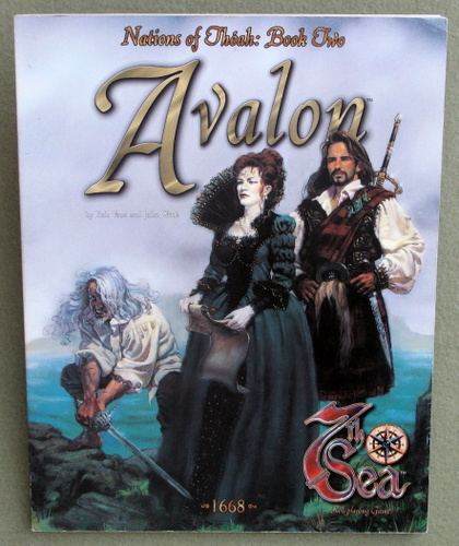 Image for Avalon (7th Sea: Nations of Théah, Book 2)