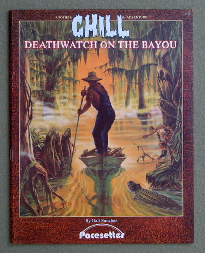 Image for Deathwatch on the Bayou: Two Tales of Terror (Chill)