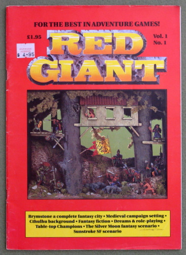 Image for Red Giant Magazine (Volume 1, Number 1)