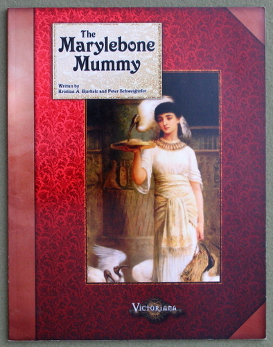 Image for The Marylebone Mummy (Victoriana)