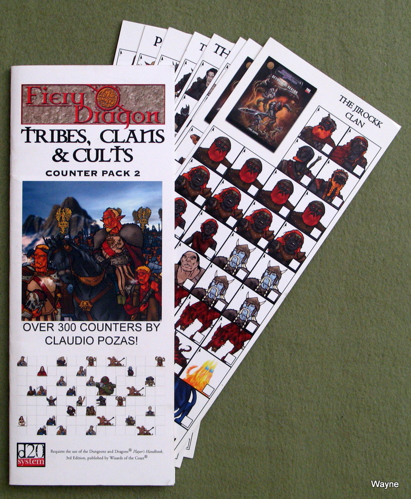 Image for Tribes, Clans & Cults: Counter Pack 2