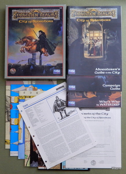 Image for City of Splendors (Advanced Dungeons & Dragons/AD&D: Forgotten Realms)