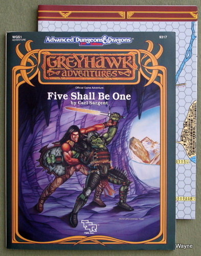 Image for Five Shall Be One (Advanced Dungeons & Dragons/Greyhawk Module WGS1)