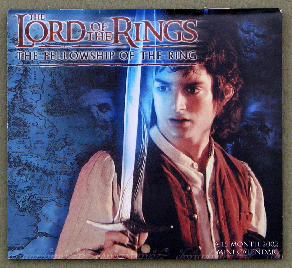 Image for Lord of the Rings: Fellowship of the Ring 2002 Mini Calendar