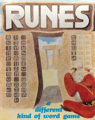 Image for Runes: A Different Kind of Word Game