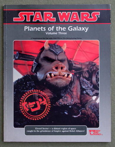 Image for Planets of the Galaxy: Volume 3 (Star Wars RPG)