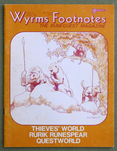 Image for Wyrms Footnotes, Issue 13 (Runequest)
