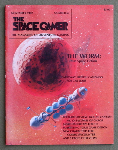 Image for The Space Gamer Magazine, Issue 57