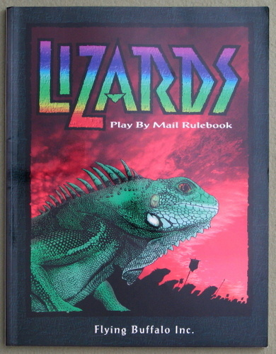 Image for Lizards: Play By Mail Rulebook