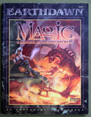 Image for Magic: A Manual of Mystic Secrets (Earthdawn)