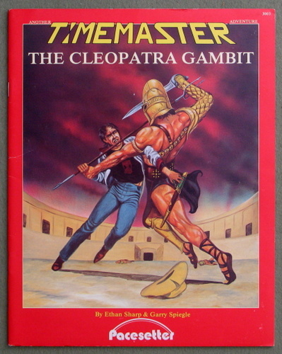 Image for The Cleopatra Gambit (A Timemaster Adventure)