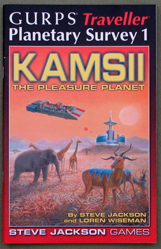 Image for GURPS Traveller Planetary Survey 1: Kamsii, the Pleasure Planet