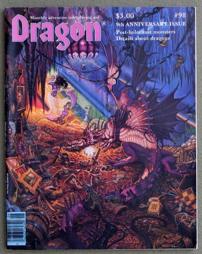 Image for Dragon Magazine, Issue 98