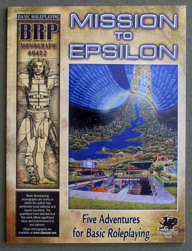 Image for Mission to Epsilon (And Other Adventures for Basic Roleplaying)