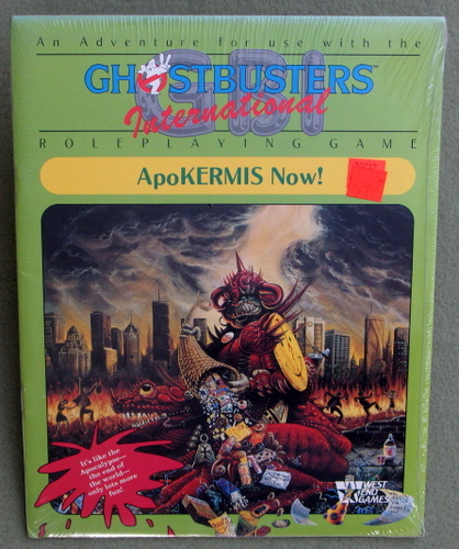 Image for Ghostbusters International RPG: ApoKERMIS Now!