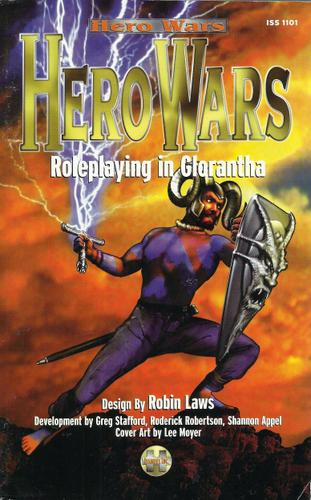 Image for Hero Wars: Roleplaying in Glorantha - SIGNED