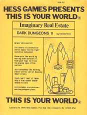 Image for Dark Dungeons 2 (Imaginary Real Estate Series for Fantasy Role Playing Games)