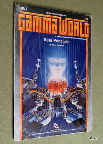 Image for Beta Principle (Gamma World Module GW7)