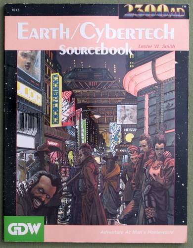 Image for Earth-Cybertech Sourcebook (2300AD role playing game)