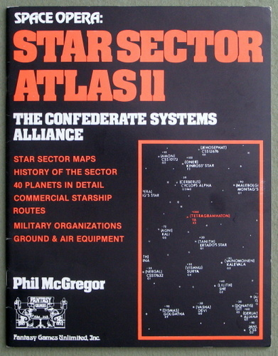 Image for Star Sector Atlas 11 - The Confederate Systems Alliance (Space Opera)