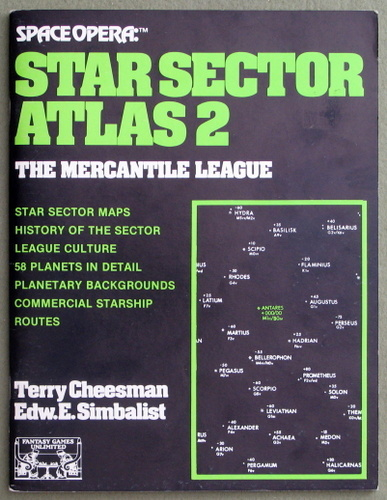 Image for Star Sector Atlas 2 - The Mercantile League (Space Opera)