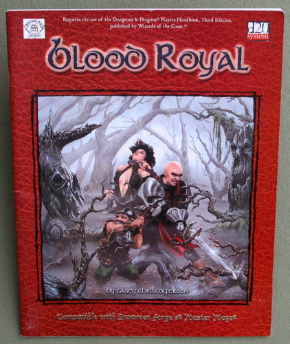 Image for Blood Royal (Dungeons & Dragons D20 System)