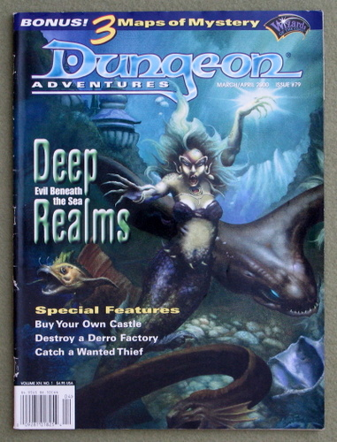 Image for Dungeon Magazine, Issue 79