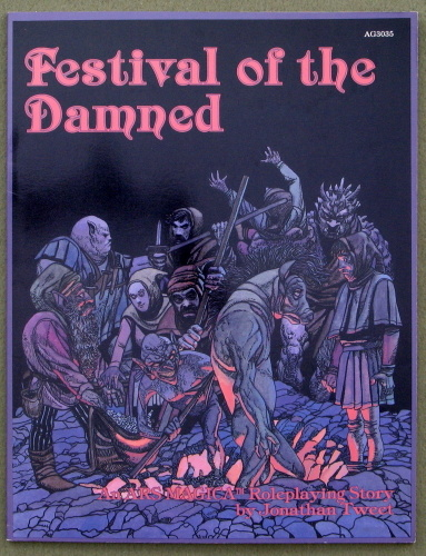 Image for Festival of the Damned (Ars Magica)