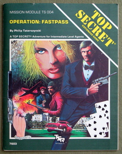 Image for Operation FASTPASS (Top Secret Module TS004)