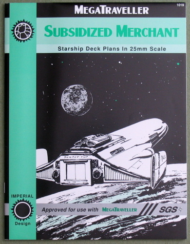 Image for Subsidized Merchant: Starship Deck Plans in 25mm Scale (Megatraveller)