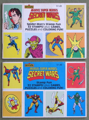 Image for Spiderman's Stamp Fun (Marvel Super Heroes: Secret Wars)